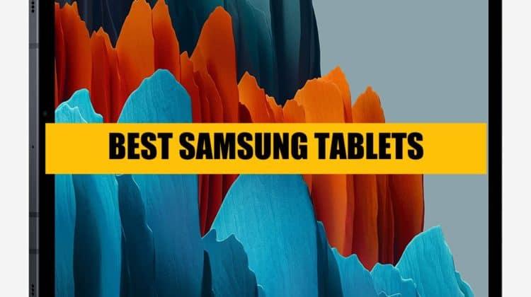 best samsung tablet top list