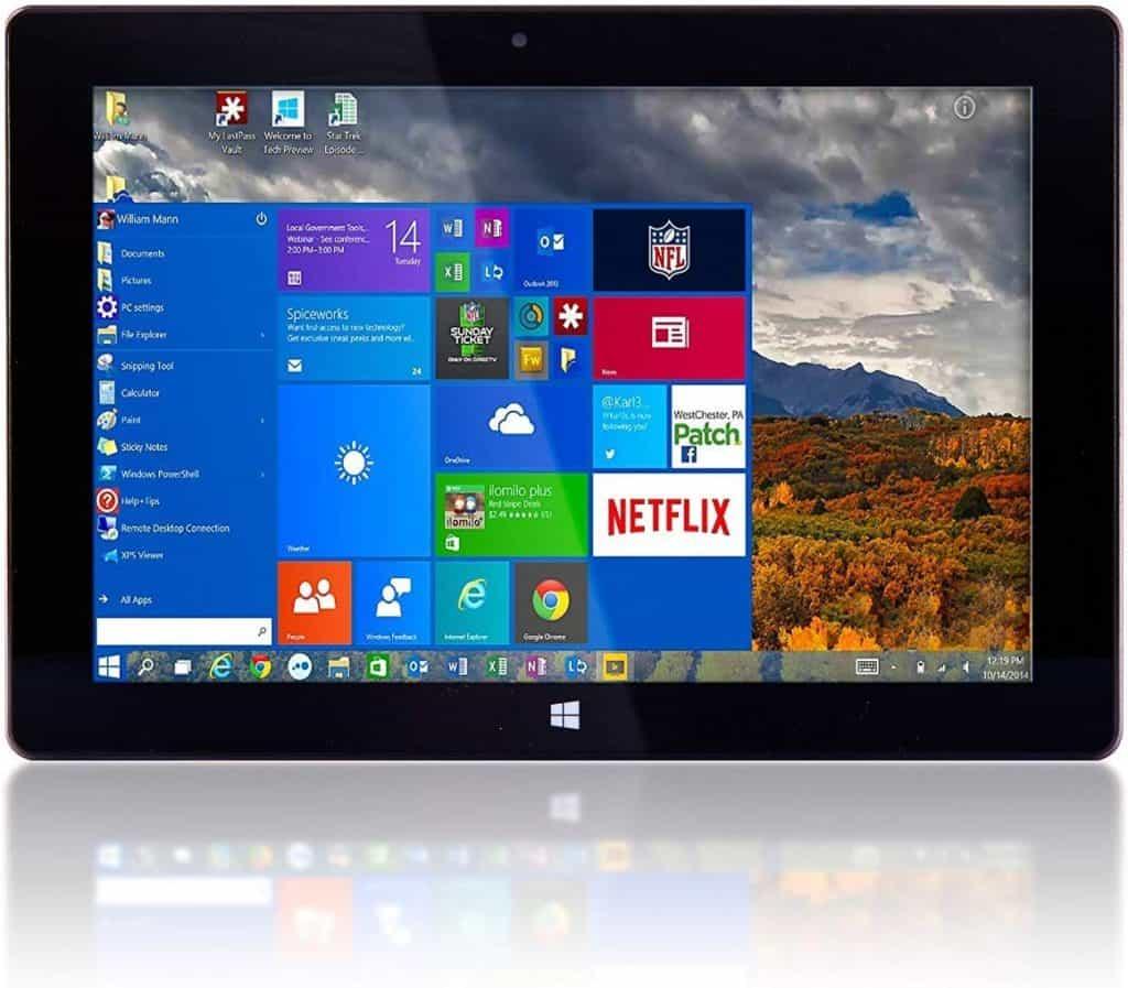 10 Fusion5 Ultra Slim Windows Tablet PC