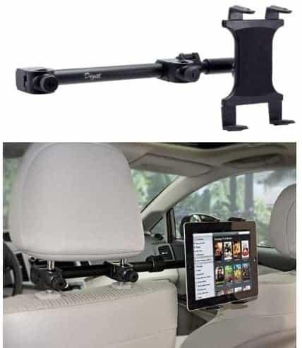 Premium Car Headrest Tablet Mount Backseat Holder Stand