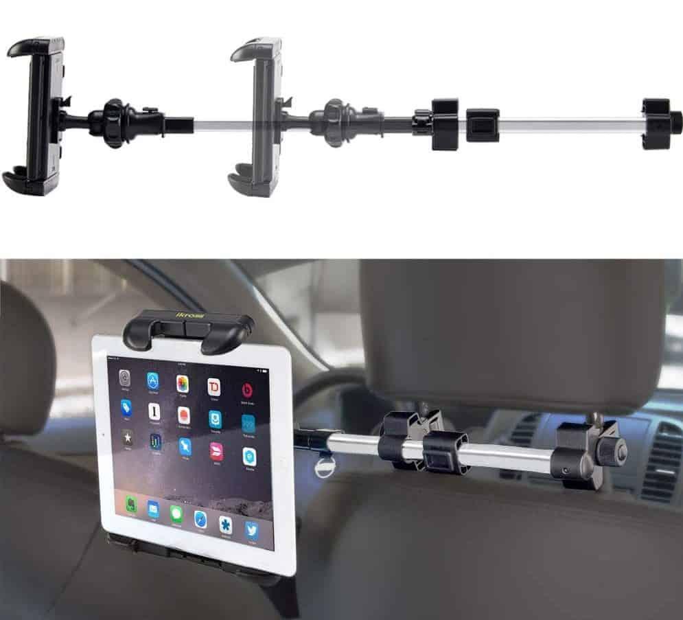 iKross Universal Car Tablet Mount Holder Backseat