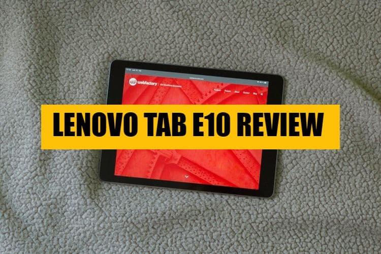 Lenovo Tab E10 thubnail