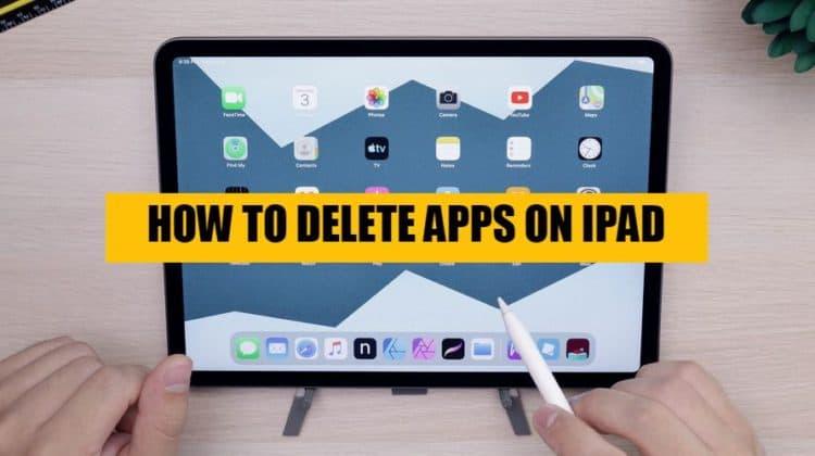 How to delete iPad apps