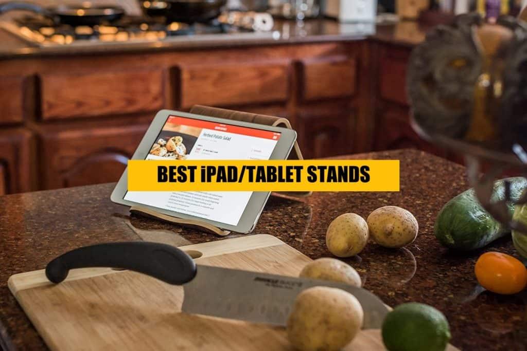 best ipad stands - wood and aluminium