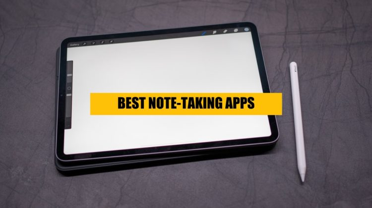 find out which are the best note-taking apps for ipad free and paid