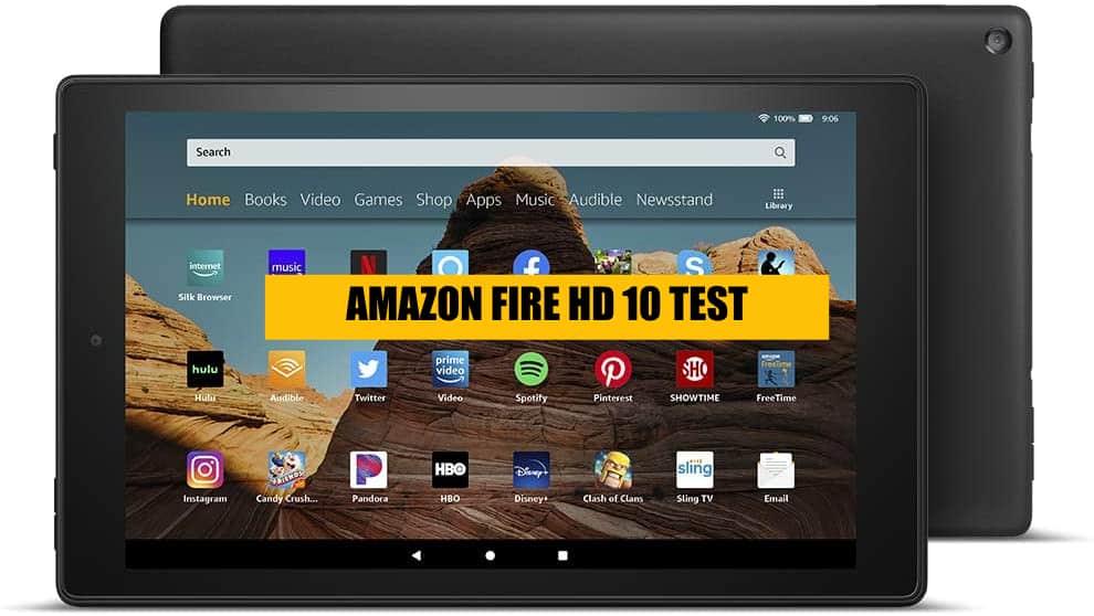 amazon fire hd 10 test